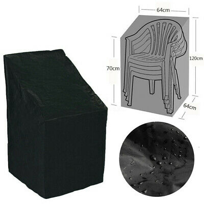 Waterproof Outdoor Stacking Chair Cover Garden Parkland Patio Table Furniture