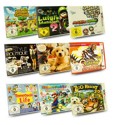 3DS Kinderspiel Animal Crossing Mario & Sonic Nintendogs Pokemon Tomodachi Life