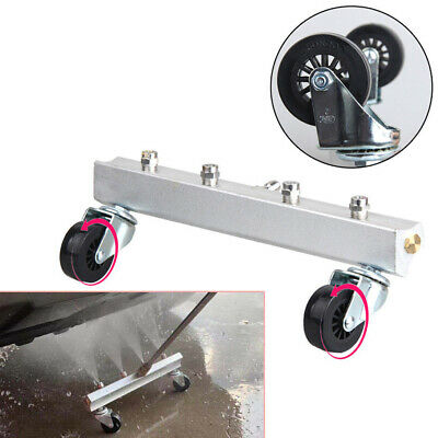 High Pressure Autos Under Body Chassis Washer 4 Spray Nozzle Water Gun Cleaning