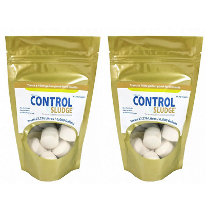 Swell UK Control Sludge Remover and Pond Cleaner 2x6pack (12 nuggets)