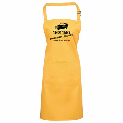 Trotters Independent Cooking Co Apron Only Funny Fools BBQ And Chef Horses Gift