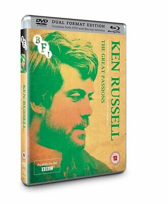 Ken Russell Collection The Great Passions Blu-ray & DVD Brand New 2016 Region B