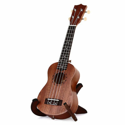 21 Inch Ukulele Sapele Soprano Hawaii Guitar Wood Musical Brown Instruments Gift