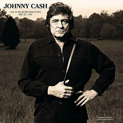 JOHNNY CASH New Sealed 2019 UNRELEASED LIVE 1981 NEW YORK CONCERT VINYL RECORD