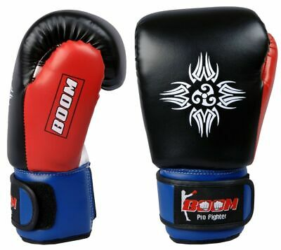 Flare Boxing Gloves Juniors Training Mitts Kids Punch Bag Sparring MMA Size 4oz