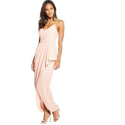 V by Very Strappy Frill Front Maxi Dress UK 22 RRP £106.50 BNWT