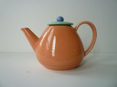 Vintage Lindt Stymeist Salmon Colorways Teapot