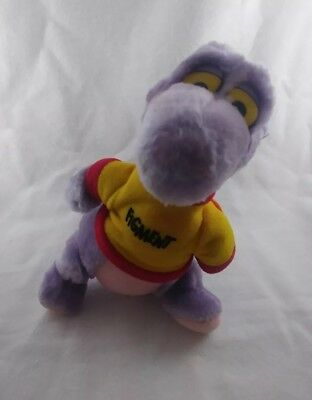"Figment the Imaginary Friend Dragon 7"" Stuffed Animal - Disney Epcot (1982)"