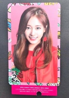 TWICE JAPAN 2ND Single ( Candy Pop ) - Official Photo Card