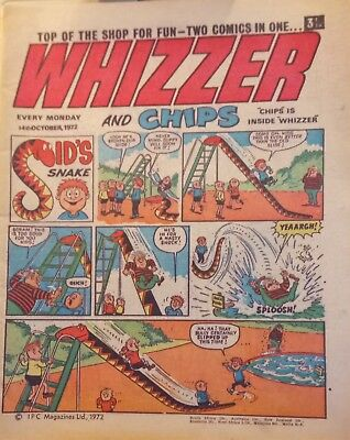 Whizzer and Chips Comic from 14th October 1972