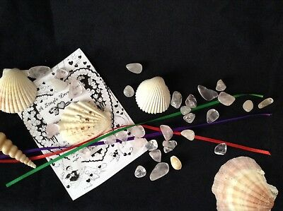Simple Knotted Love Spell Kit - Wicca, Pagan, Witchcraft, Magick