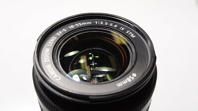 CANON ZOOM EF-S 18-55mm 3.5-5.6 IS STM LENS L@@K & READ