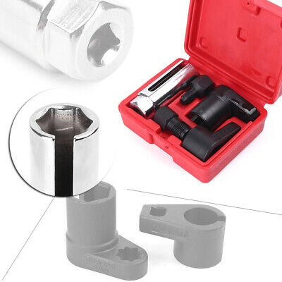 O2 Oxygen Sensor Socket Thread Chaser Install Offset Wrench Vacuum Switch