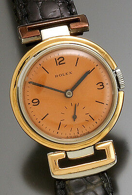 Rare Vintage Rolex Watch Ca1930S | Luxury Steel And Gold