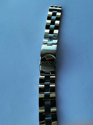 SWATCH Strap x IRONY BIG MAHAGANY SOLID - YGS717G - 2000 - NEW - STAINLESS STEEL