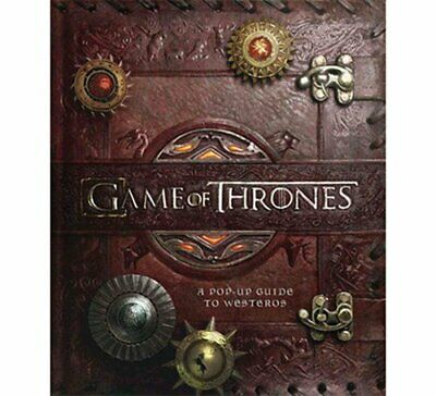 Game of Thrones A Pop-Up Guide to Westeros by Matthew Reinhart 9781608873142