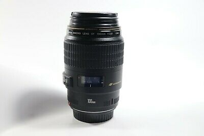 Canon Macro Lens EF 100mm 1:2.8 USM with hood in perfect condition