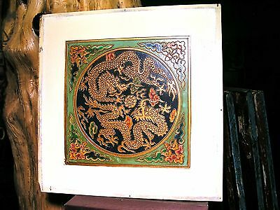 Antique Asian Wall Tile 0999