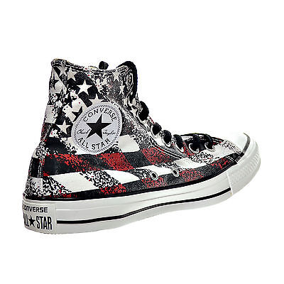 a09788e897d6 Converse 147063F Flag Chuck Taylor All Star Hi Top Sneakers Mens 7 Womens 9  New