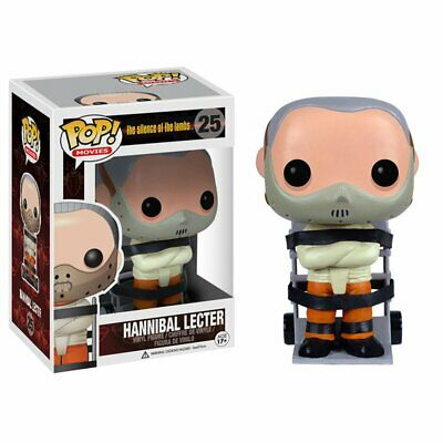 Funko POP Horror Movies Hannibal Lecter Silence of the Lambs 4in. Figure #25