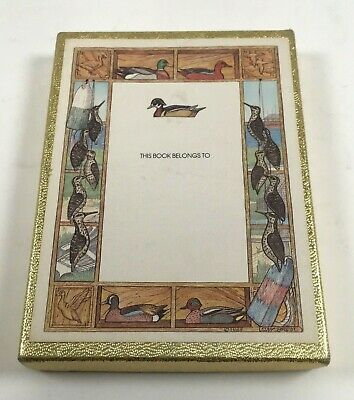 Vintage Antioch Publishing Company Jan Brett Vintage Bookplates Ducks
