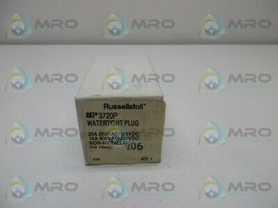 Russellstoll 3720P Receptacle * New In Box *