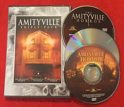 Amityville Triple-Pack (DVD 1979 & 2005) + Amityville II: The Possession