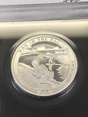 2019 S 99.9 % Silver /Guam's War in the Pacific National Historical GUAM/PRESALE