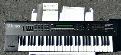 ROLAND XP-30 64 Voice Synthesizer - Shop Tested - Works/Sounds Great -  ExcelCond