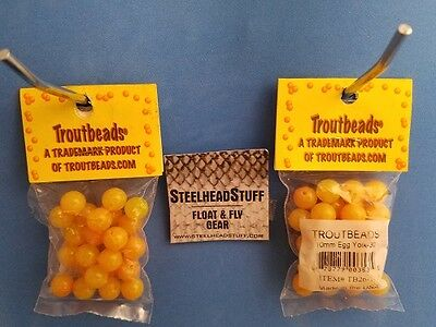 Troutbeads Cheese 6-10mm Trout Bead $2.50 US Combined Shipping