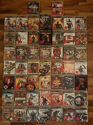 Playstation 3 Spiele FSK 18, z.b. Black Ops, Battlefield, Metro, GTA V,...
