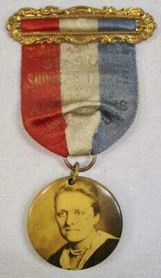 Supreme Temple Loyal Americans 6th Annual Session Medal Ribbon Badge (O) AS IS