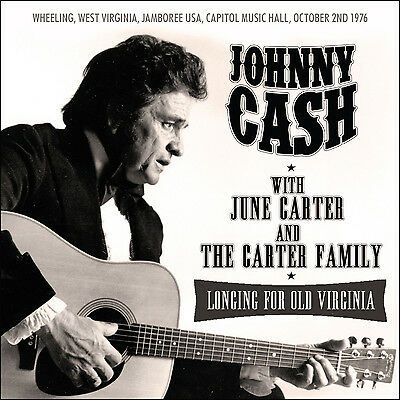 JOHNNY CASH w CARTER FAMILY New Sealed 2019 UNRELEASED 1976 LIVE CONCERT CD