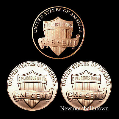 2019 P D S Lincoln Shield Mint Proof Set ~ S Proof Coin & PD from Bank Roll