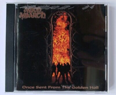 Amon Amarth CD Once Sent From the Golden Hall