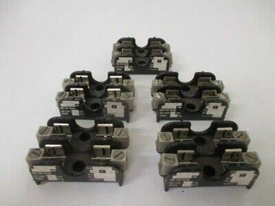 Lot Of 5 Gould 20302 Fuse Block *Used*