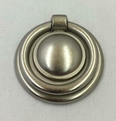 Distressed Nickel Finish Cabinet Drawer Door Ring Pulls Handles Qty 25