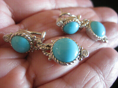 9019ff521 NWOT JUDITH RIPKA Sterling Silver Clip Earrings, Gemstones - $89.00 ...