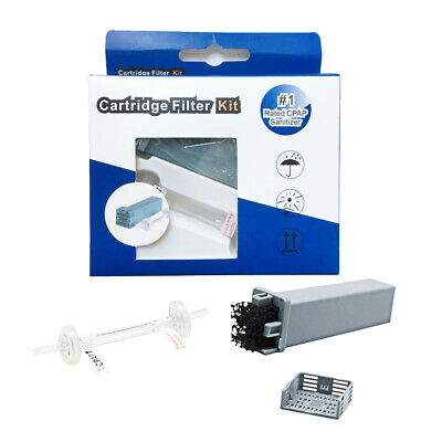 US Cartridge Filter Kit for SoClean 2 (SC1200) with Check Valve