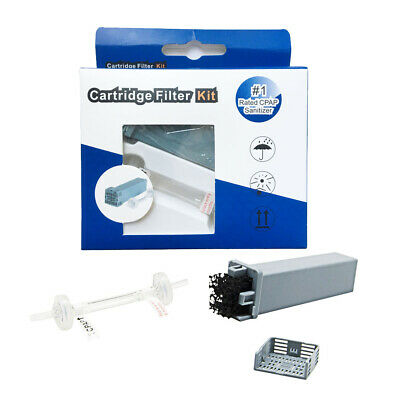 Cartridge Filter Kit for SoClean 2 (SC1200) with Check Valve