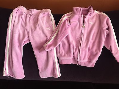 Toddler Girls Athletic Gym Outfit 2 Piece Pants Jacket
