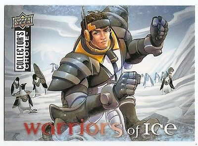 09/10 COLLECTOR'S CHOICE WARRIORS OF ICE Hockey (#W1-W6) U-Pick from List
