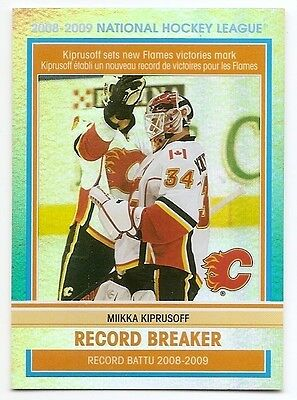09/10 O-PEE-CHEE RECORD BREAKERS Hockey (#RB1-RB10) U-Pick from List