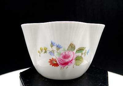 """Shelley England Dainty #272101 Rose And Red Daisy Mini 2"""" Open Sugar Bowl"""