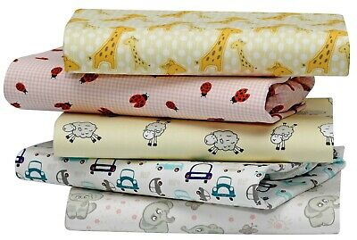 Cuddles & Cribs 1 Pack GOTS Certified Organic Cotton Fitted Crib Sheet Set