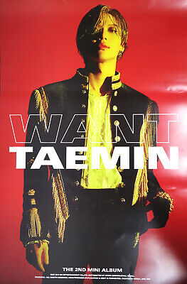 TAEMIN SHINee - WANT [Type - A] OFFICIAL POSTER