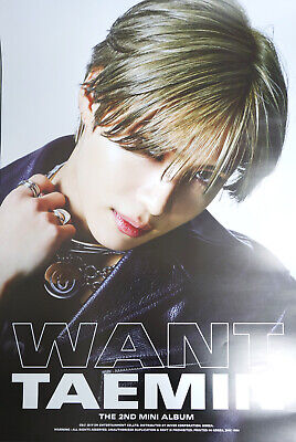TAEMIN SHINee - WANT [Type - B] OFFICIAL POSTER