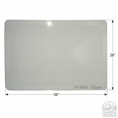 Icon 1860 RV Skylight Dome 22 x 34 x 4/Outer 26' x 38' - UV Resistant