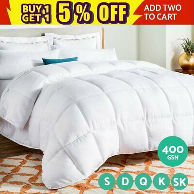 Luxury Bedding Bamboo Microfiber Quilt Microfibre Doona Duvet All Size Winter AU
