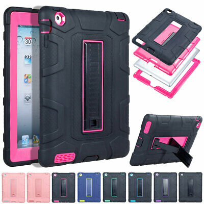 For Apple iPad Air 3rd Gen 10.5 Inch Hybrid Rugged Shockproof Stand Hard Case
